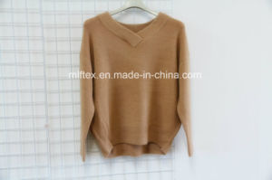 V Neck Short Sweater for Women pictures & photos
