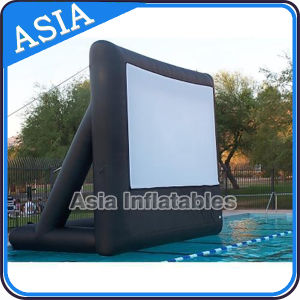 0.9mm PVC Tarpaulin Inflatable Water Flaoting Movie Screen for Promotion pictures & photos