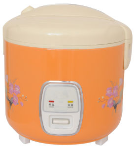 Fullbody Electric Rice Cooker in Orange