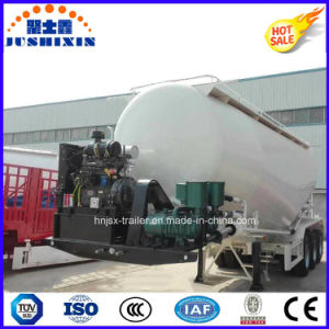 68000L 3axle Bulk Cement Powder Tanker Semi Trailer pictures & photos