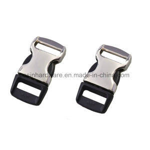 10mm Plastic Curved Metal Side Release Buckle pictures & photos