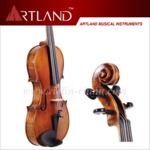 Antique Violin Handmade Craft From Solid Wood (AVA100) pictures & photos