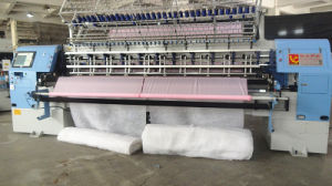 Yuxing Computerized High-End Shuttle Quilting Sleeping Bag Comforter Machine with Ce and ISO Approval pictures & photos