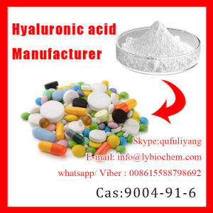 Certified Sodium Hyalurate Powder 99%/CAS No.: 9004-61-9 pictures & photos