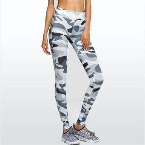 Fitness Sporting Leggings Women Workout Pants Summer Sporter Skinny Camouflage Women Leggings pictures & photos