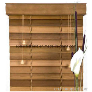 63.5mm Wood Blinds Home Use Windows Blinds (SGD-S-5603) pictures & photos