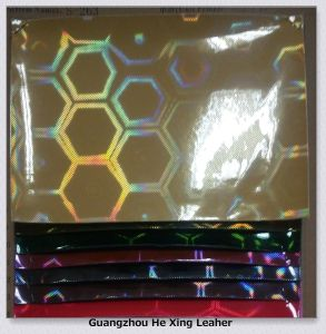 Synthetic PU/PVC Leather for Shoes, Handbags pictures & photos