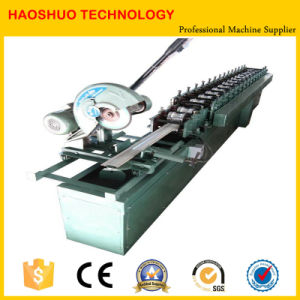 Foam Cutting Machine Aluminum Metal Rolling Shutter Door Slat Cold Roll Forming Machinery pictures & photos