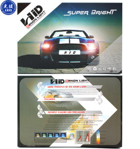 Auto HID Xe Bulb 55W 12000k Car HID Xe Headlight pictures & photos