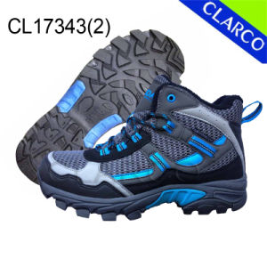 Women Sports Hiking Outdoor Shoes with Rubber Outsole pictures & photos