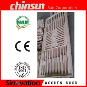 Double Wooden Door with High Quality pictures & photos