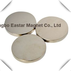 Big Size Permanent Neodymium Disc Magnet pictures & photos