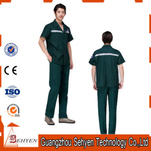 65% Polyester and 35% Cotton Medical Scrub Suit Short Sleeve pictures & photos