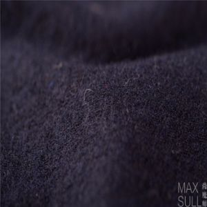 Wool/Nylon Fabric Good Elasticity in Navy Blue pictures & photos