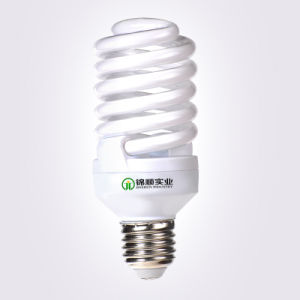 T2 7mm 25W Full Spiral Energy Saving Lamp 1500lm Ce&RoHS pictures & photos