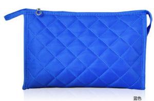 Korean Lingge Makeup Bag Embroidered Handbag Collection Bag Lady Lattice Multifunctional Wash pictures & photos