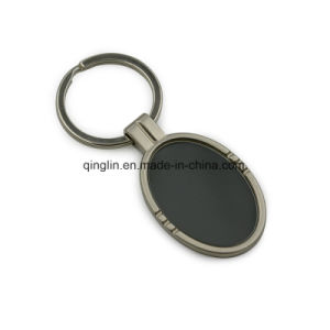 Blank Metal Zinc Alloy Keychain Key Holder Keyring pictures & photos