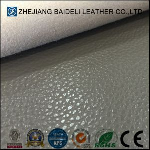 Exported Quality Embossed Microfiber Synthetic Leather for Sofa Furnitre Upholstery pictures & photos