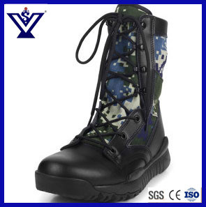 Fashionable Camouflage Military Training Army Combat Boots (SYSG-201730) pictures & photos