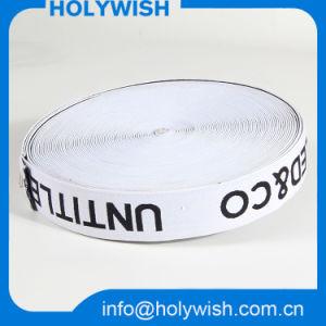 Custom Logo Black 2 Inch Satin Elastic Ribbon Wholesale pictures & photos