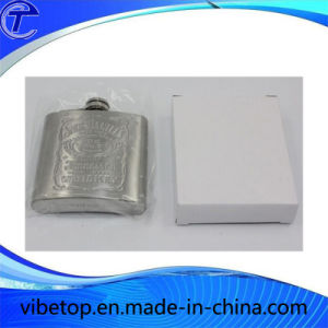 Protable Mini Stainless Steel Wine Flagon (WB-09) pictures & photos
