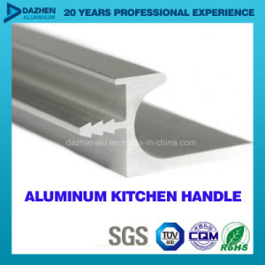 Kitchen Cabinet Handle Aluminium Aluminum Profile for Bp Brush Matt Silver pictures & photos