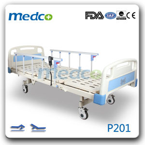 Ultra-Low Two Functions Electric Hospital Bed pictures & photos