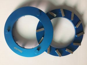 Klindex 240mm 8segments with 30grit Diamond Grinding Plates for Concrete pictures & photos