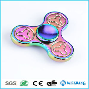 Hand Spinner Tri Fidget Ceramic Ball Desk Toy pictures & photos