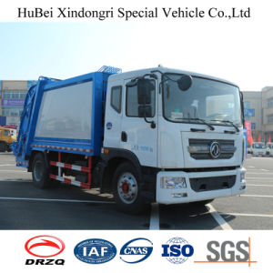 12cbm Dongfeng Euro 4 Barrel Tuning Waste Garbage Collection Compactor Truck pictures & photos