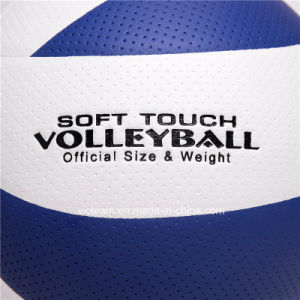 World-Class Custom Logo Size 5 Laminated Volleyball pictures & photos