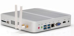 Fanless Intel Core I3 Mini PC with The Seventh Generation Processor (JFTC7100U) pictures & photos