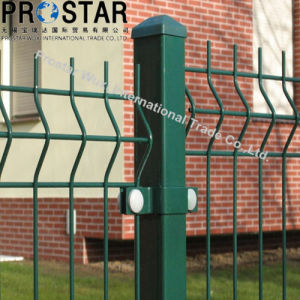 3D Curvy Welded Wire Mesh Fencing with PVC Coating pictures & photos