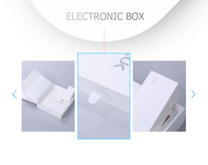 Simplicity Flip Cardboard Electronic Accessories Set Gift Box pictures & photos