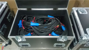 Cable Trunk Road Case with Removable Dividers pictures & photos