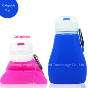 Collapsible Silicone Mug Coffee Cup for Travel 450ml pictures & photos