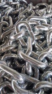 Steel DIN766 Galvanized Medium Link Chain 8mm pictures & photos