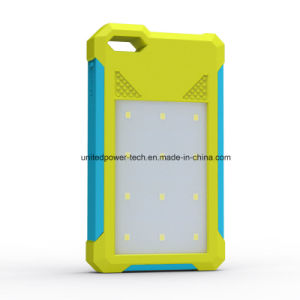 Solar Power Lde Lights 8000mAh Power Bank pictures & photos