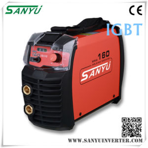 Sanyu 2016 New MMA Welding Machines MMA-160 IGBT pictures & photos