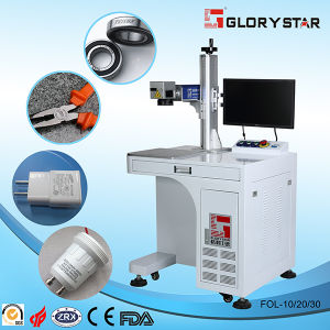 20W Fiber Optical Laser Marking Machine for Metal pictures & photos