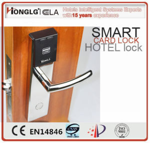 Electronic Keyless RFID Card Hotel Lock pictures & photos