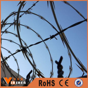 High Security Spiral Concertina Razor Barbed Blade Wire Coil pictures & photos