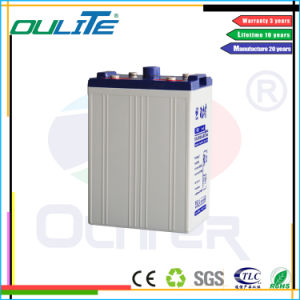 Sealed Lead Acid Battery Solar Battery UPS Battery 2V 500ah pictures & photos