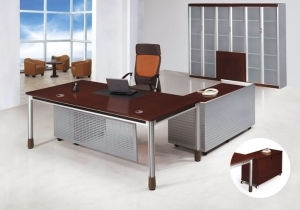 Modern MFC Laminated MDF Wooden Office Table (NS-NW347) pictures & photos