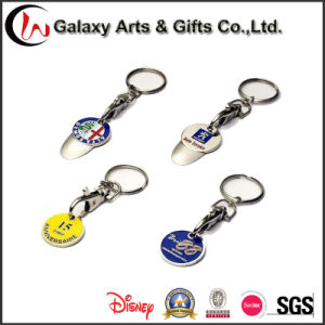 Cheapest Promotional Christams Gift Metal Key Chain with Customized Logo