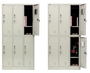 Cheap 6 Door Clothing Armoire for Sale pictures & photos