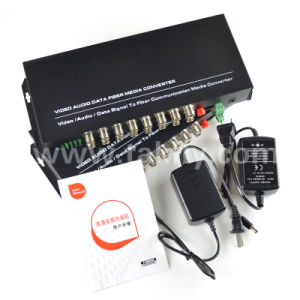 1/2/4/8/16/32 Channel Coxial to Fiber Video Transceiver pictures & photos