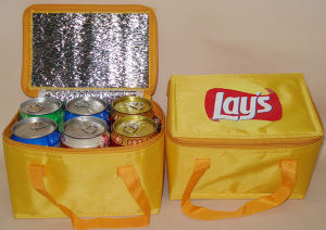 Custom 6 Pack Non Woven Insulated Thermal Cooler Bag Wholesale pictures & photos