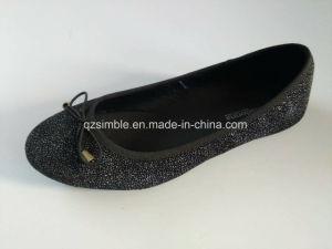 Classic Black Color Lady Dress Shoes pictures & photos