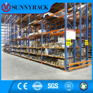 Man Powder Saving Modern Storage Solution Warehouse Metal Storage Shelving pictures & photos
